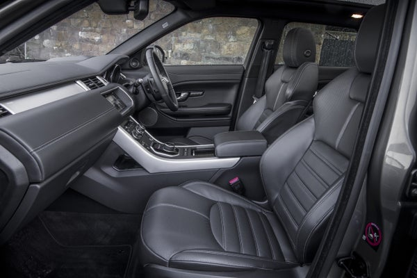 Range Rover Evoque 2011 front interior