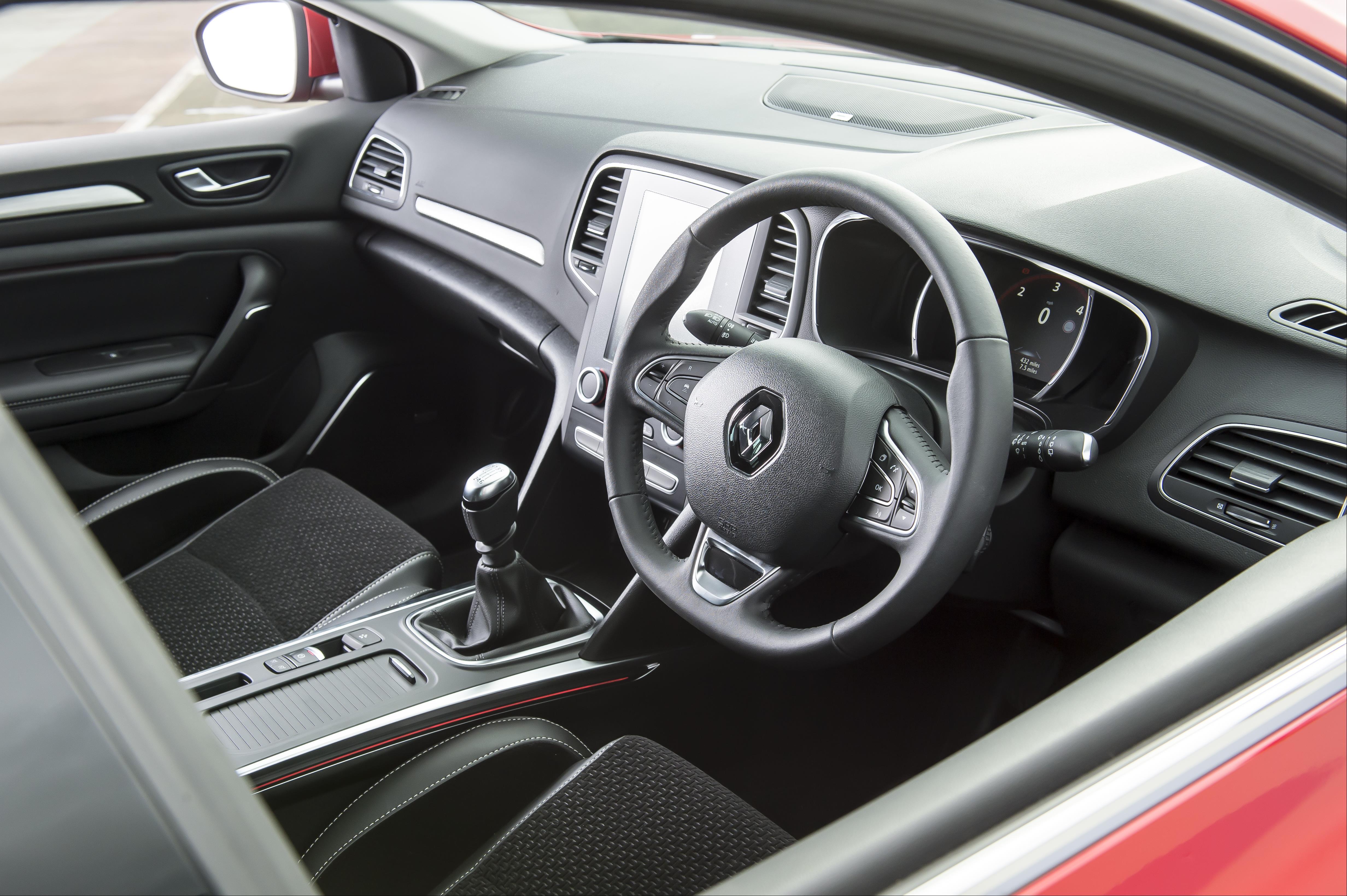 Renault Megane Sport Tourer Steering Wheel