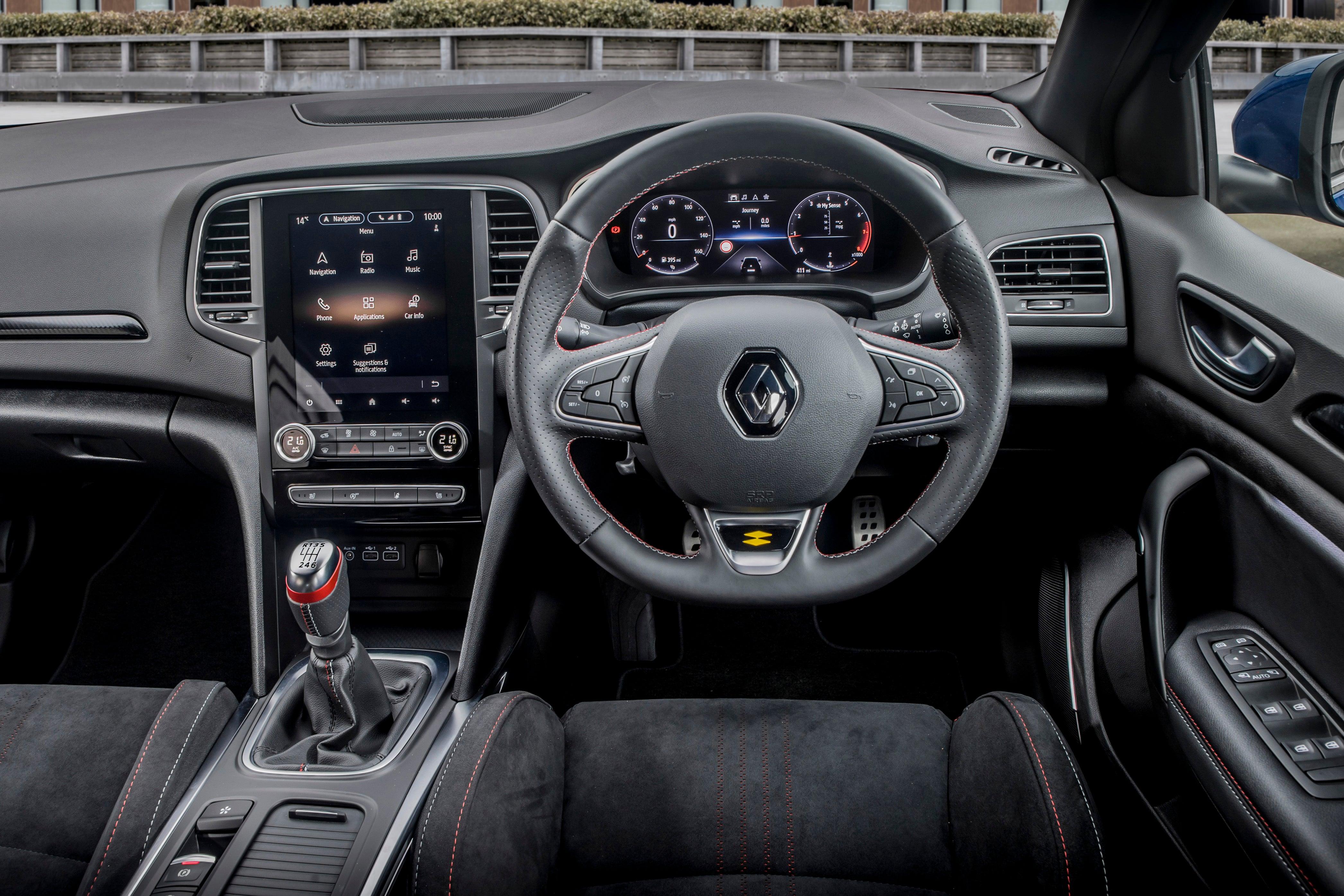 Renault Megane interior