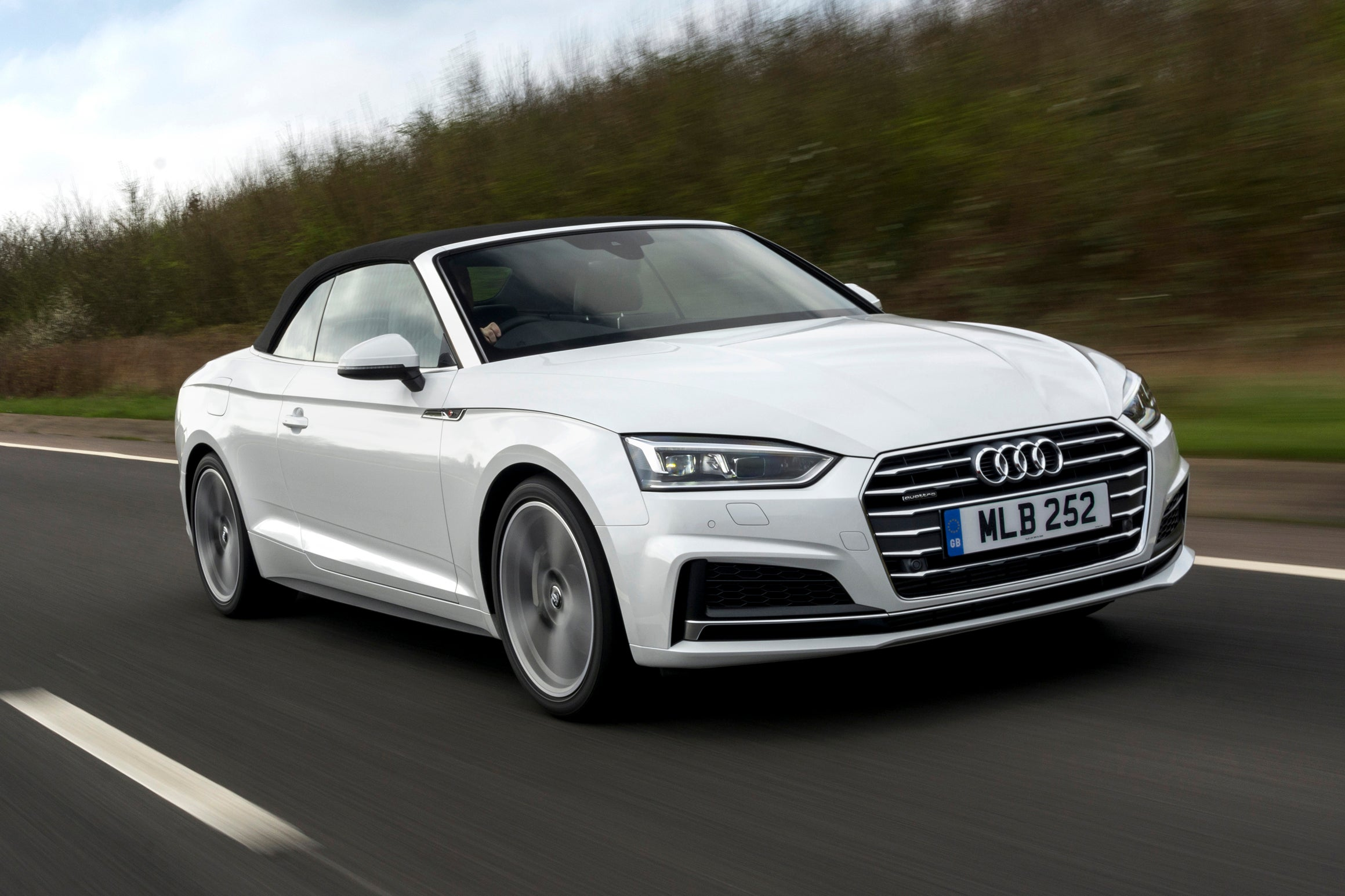 Audi A5 Cabriolet Driving Front