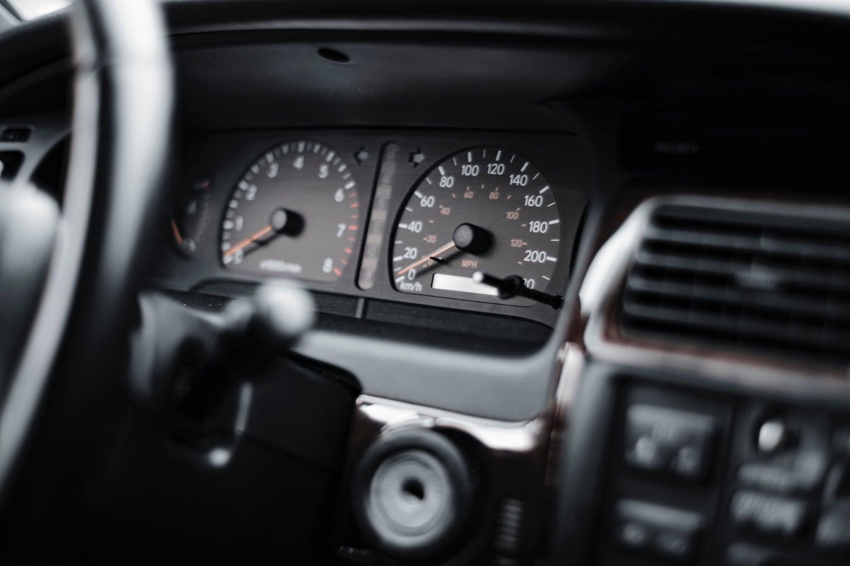 Dashboard mileage