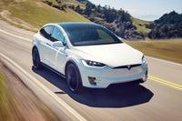 Tesla Model X Front Side View