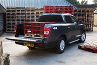 SsangYong Musso Bootspace