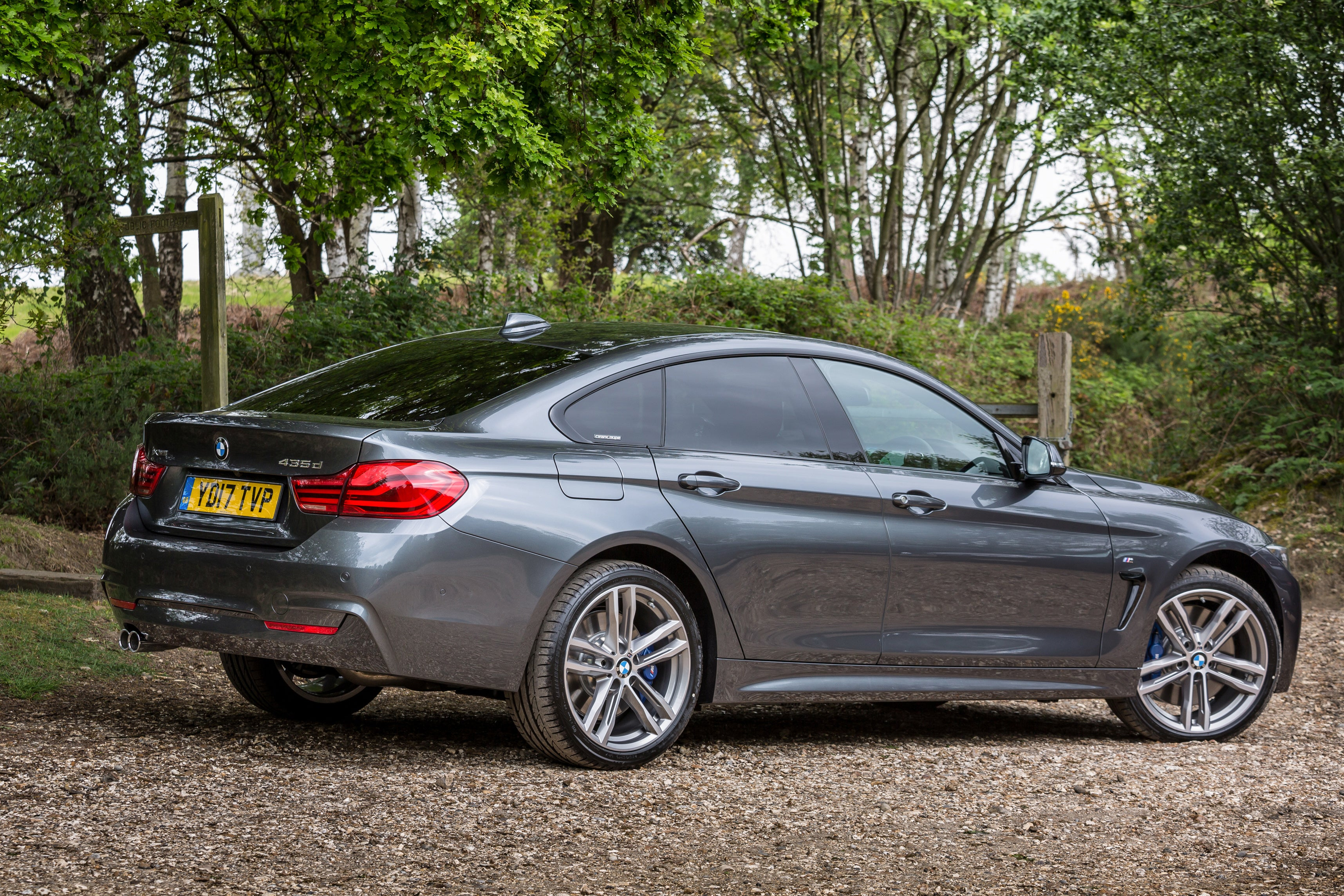 BMW 4 Series Gran Coupe Exterior Side