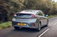 Hyundai Ioniq on road
