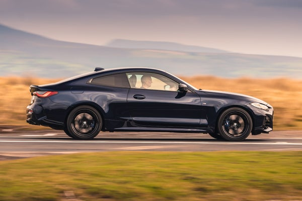 BMW 4 Series exterior driving side