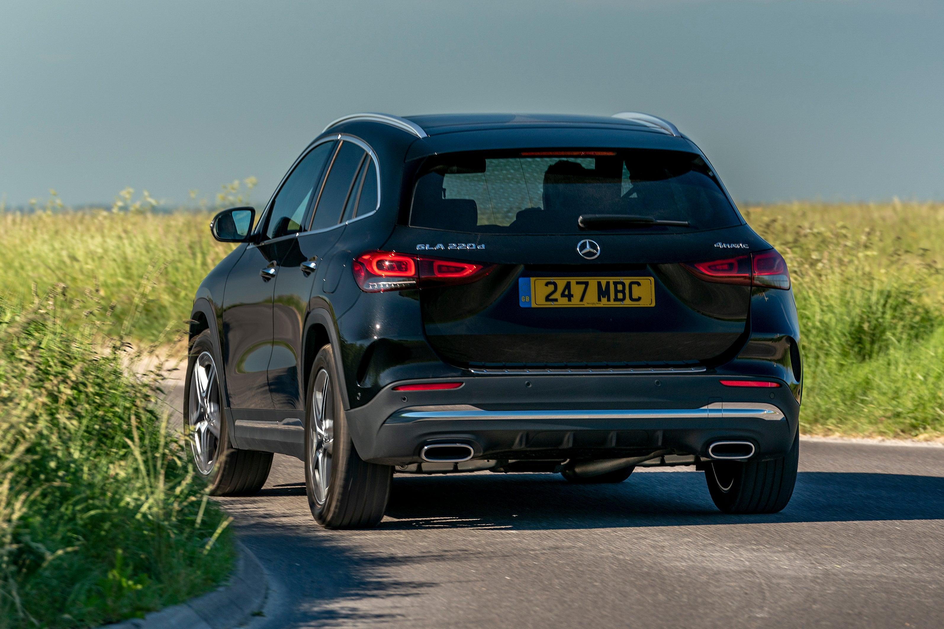 Mercedes GLA 2020 backleft exterior