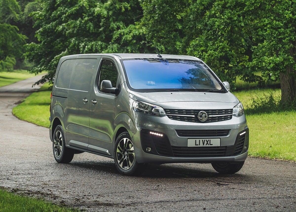 Vauxhall Vivaro Front Side View