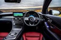 Mercedes GLC Coupe steering wheel