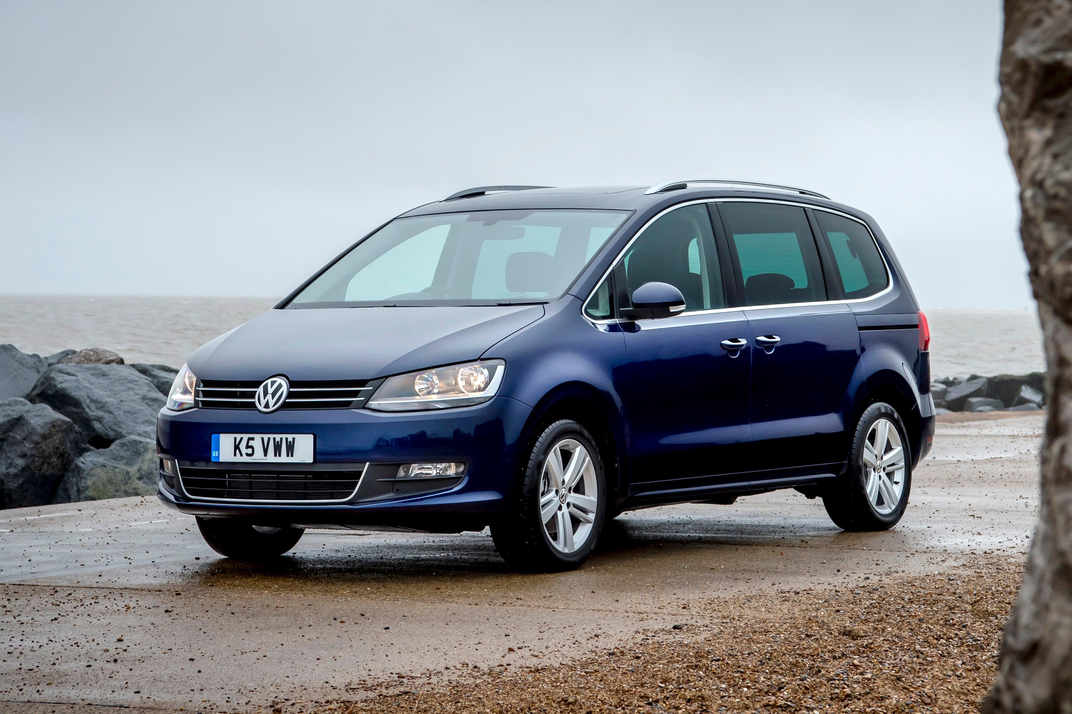 Volkswagen Sharan Front View