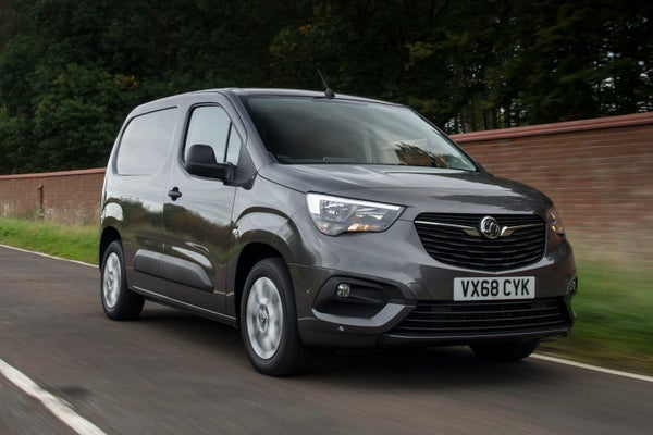 Vauxhall Combo Front Side View