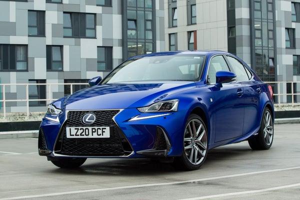 Lexus IS frontleft exterior