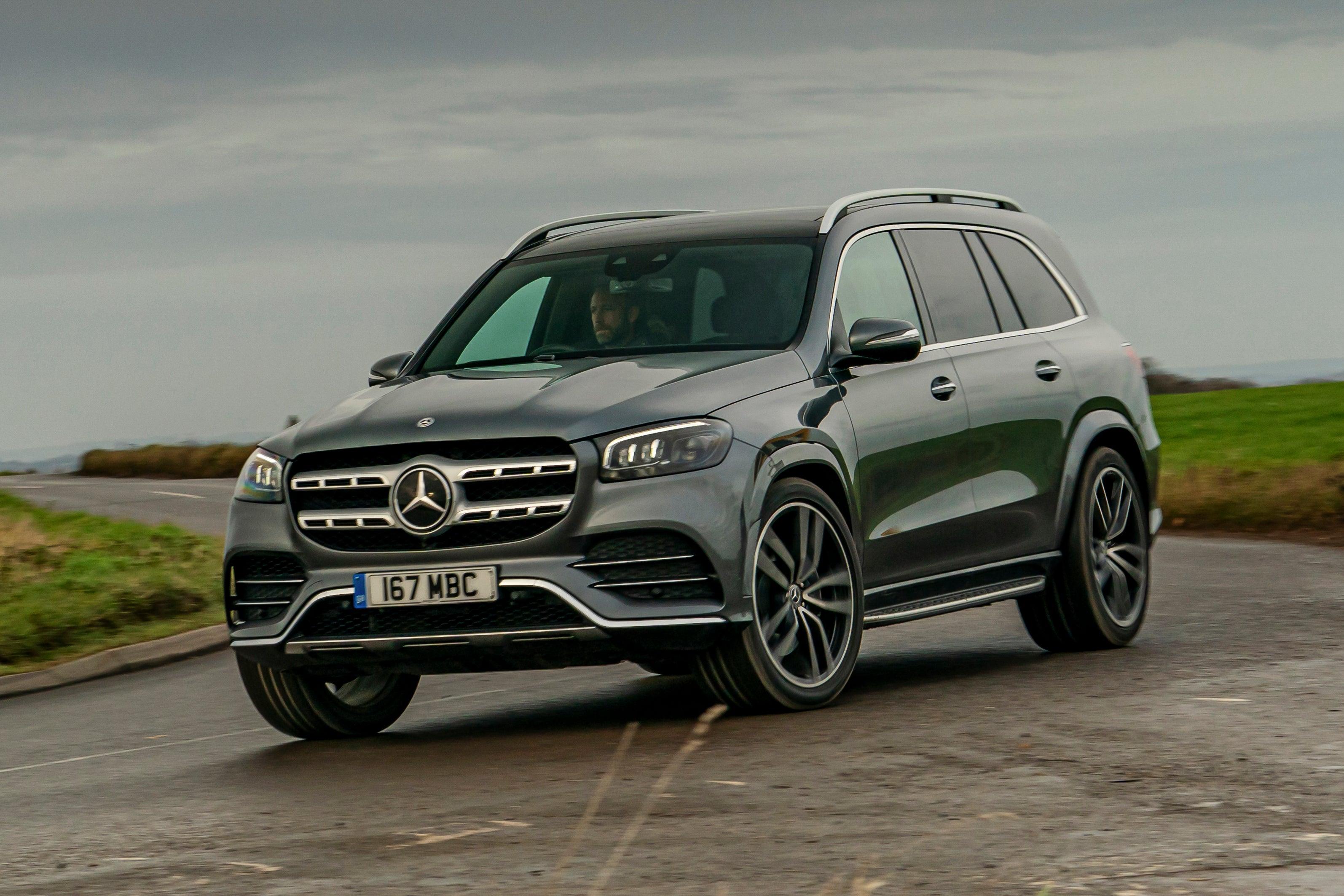 Mercedes GLS frontleft exterior