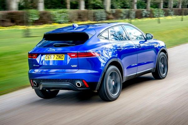 Jaguar E-Pace backright exterior