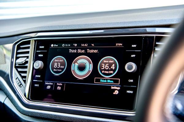 Volkswagen T-Roc Electric Infotainment