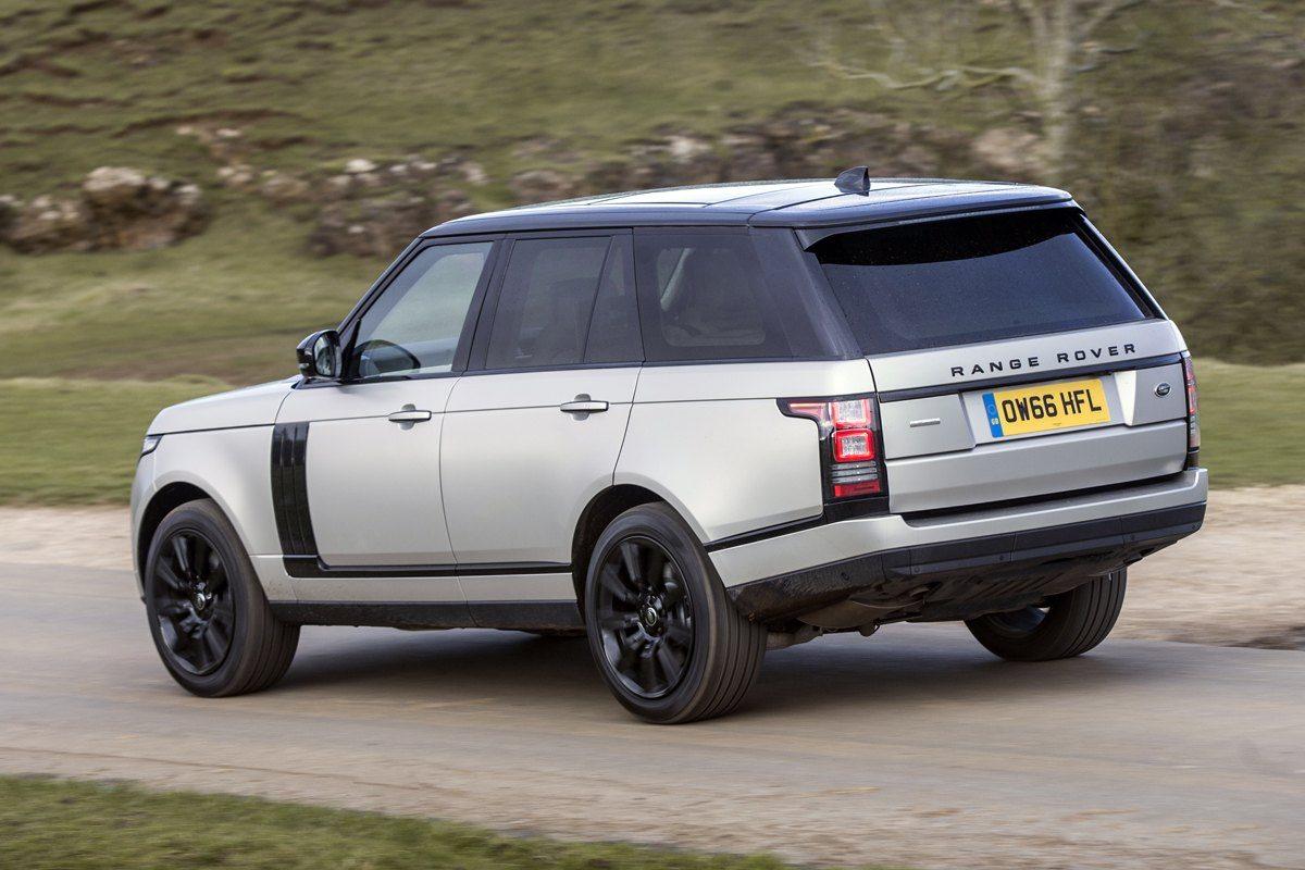 Range Rover  backleft exterior