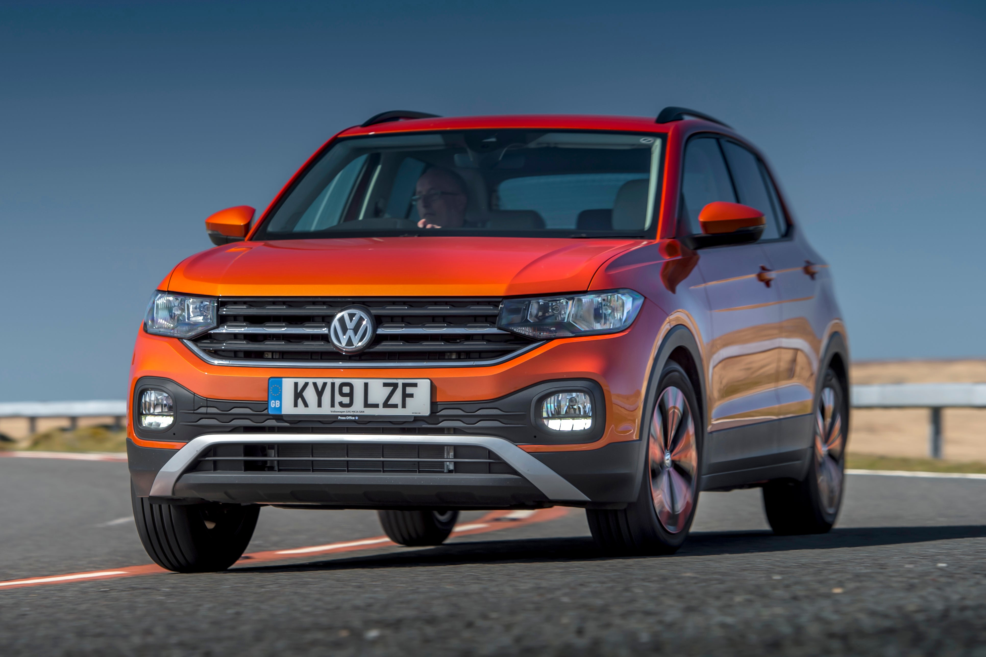 Volkswagen T-Cross Front View