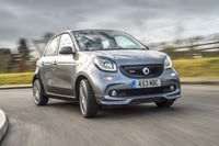 Smart Forfour Front Side View