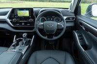 Toyota Highlander interior dashboard