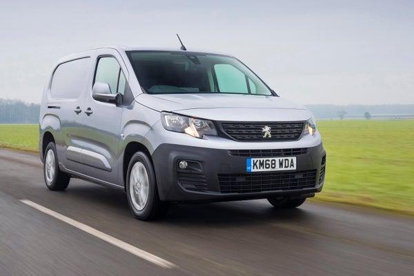 Peugeot Partner Front View