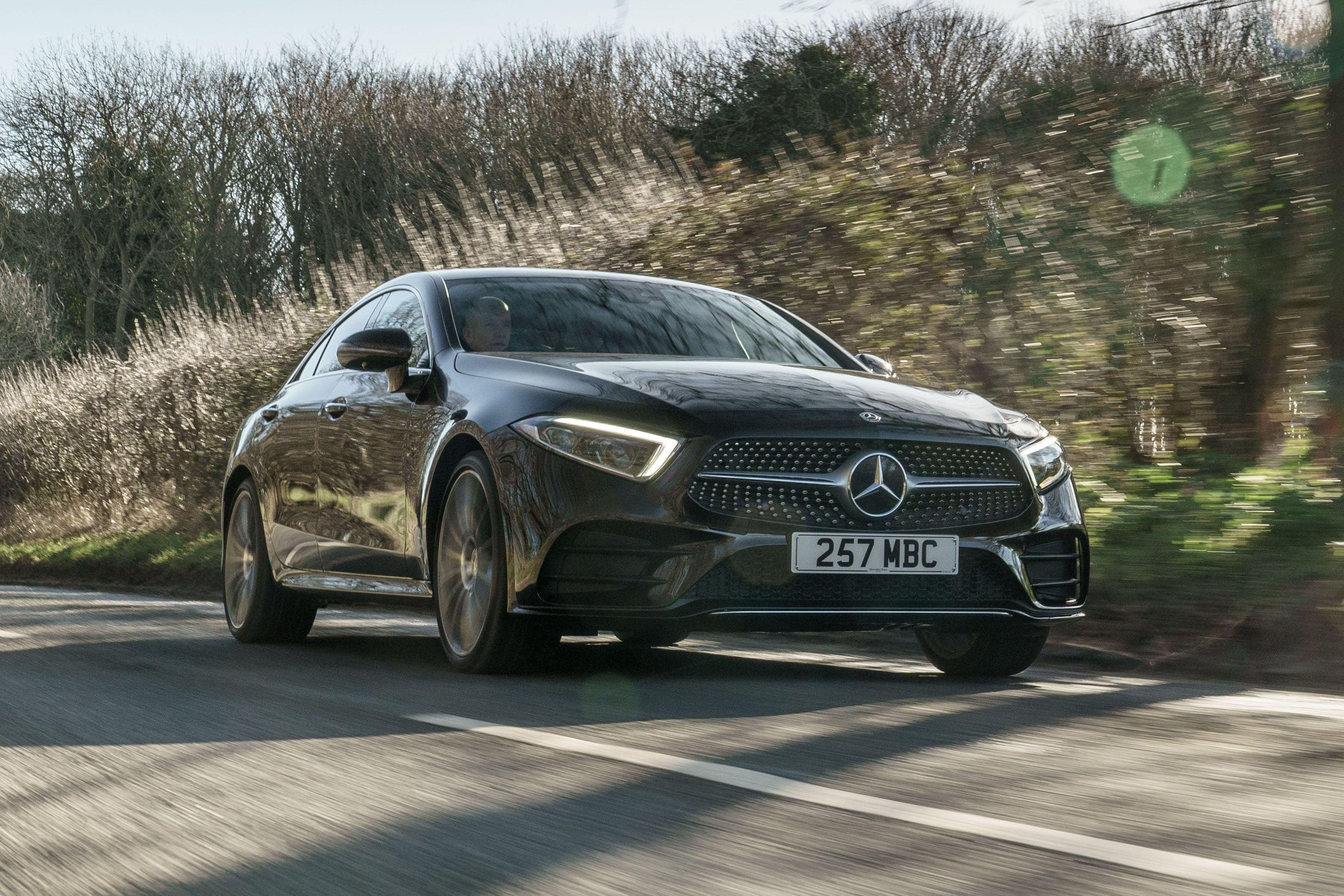Mercedes CLS (2018) front exterior