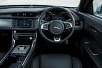 Jaguar XF front interior