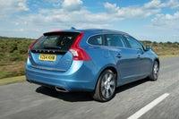 Volvo V60 Rear Side View
