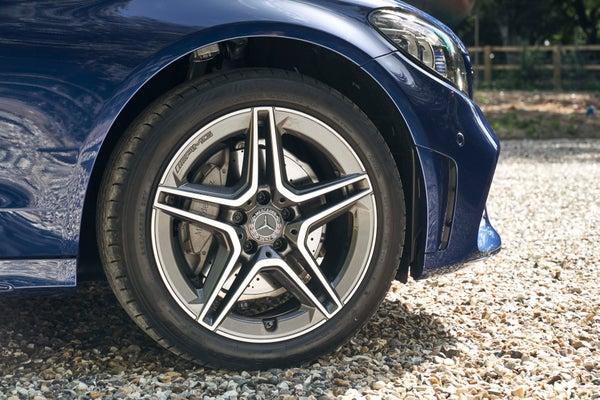 Mercedes C-Class frontright wheel