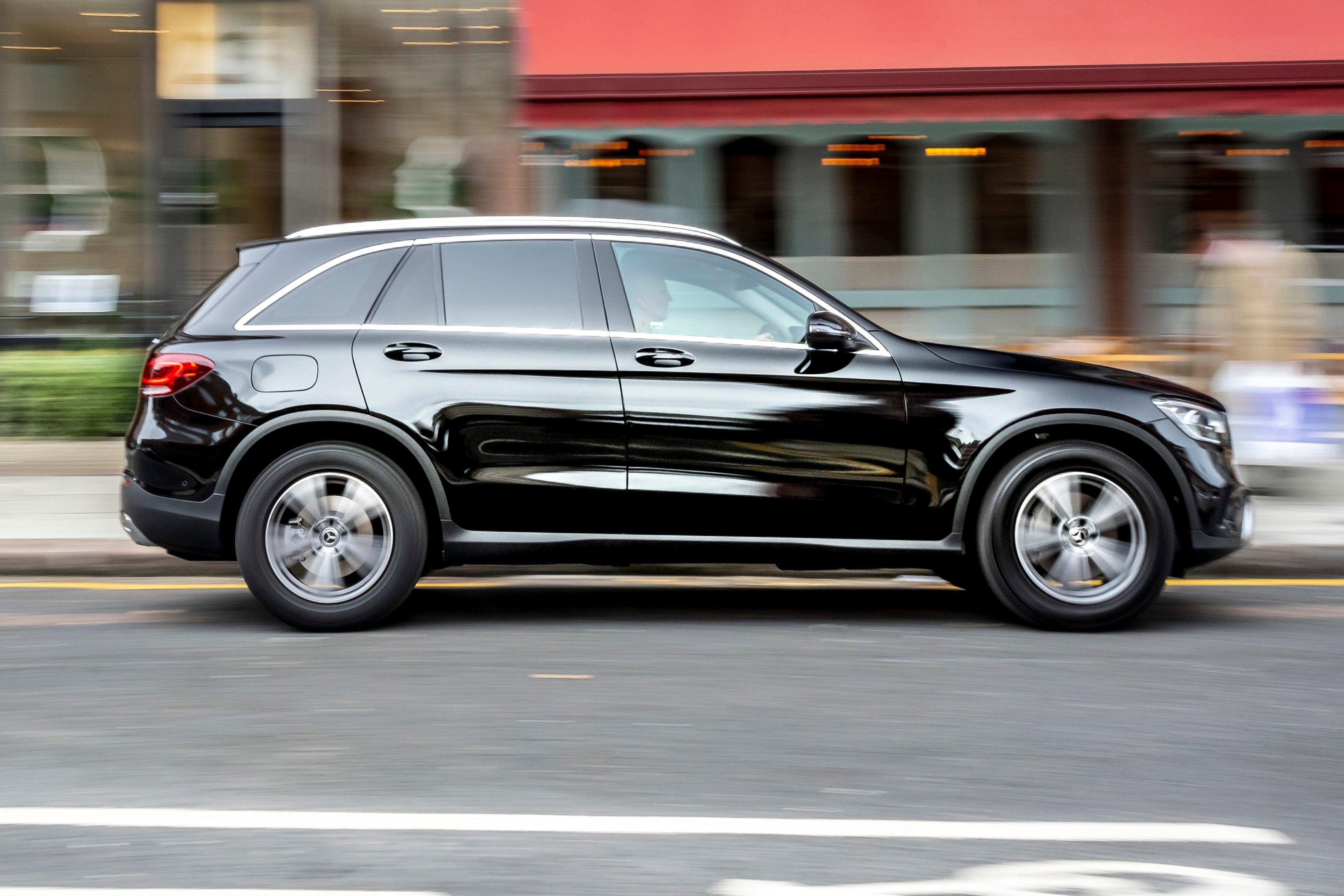 Mercedes GLC rightside exterior
