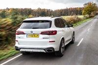 BMW X5 Driving Back