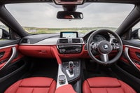 BMW 4 Series Gran Coupe Interior Red