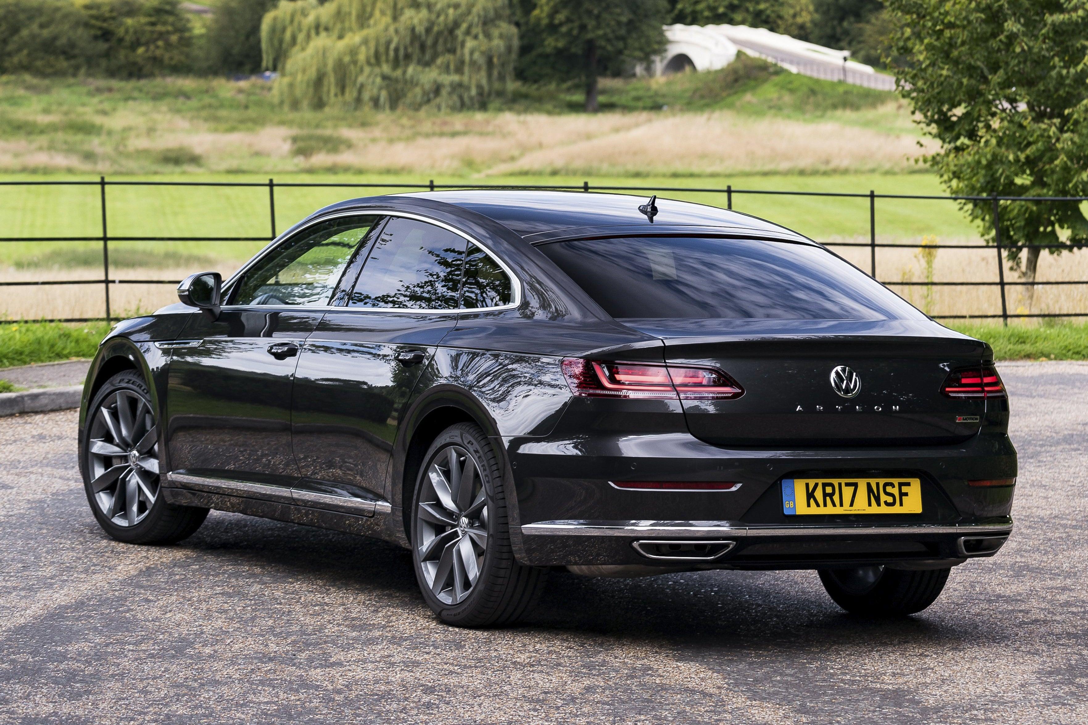 Volkswagen Arteon Rear Side View