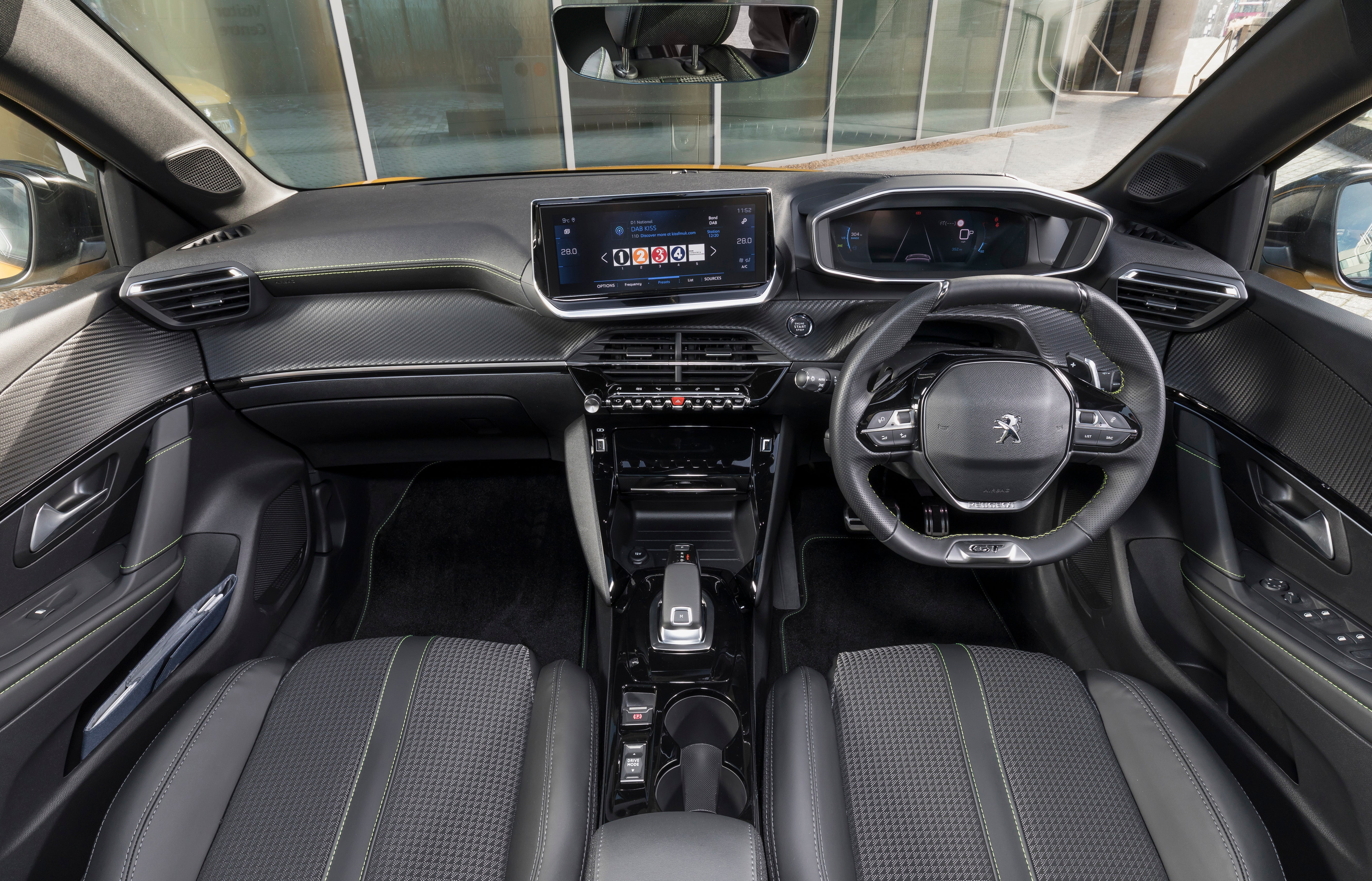 Peugeot 208 Review 2021 Front Interior