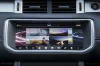Range Rover Evoque 2011 central console