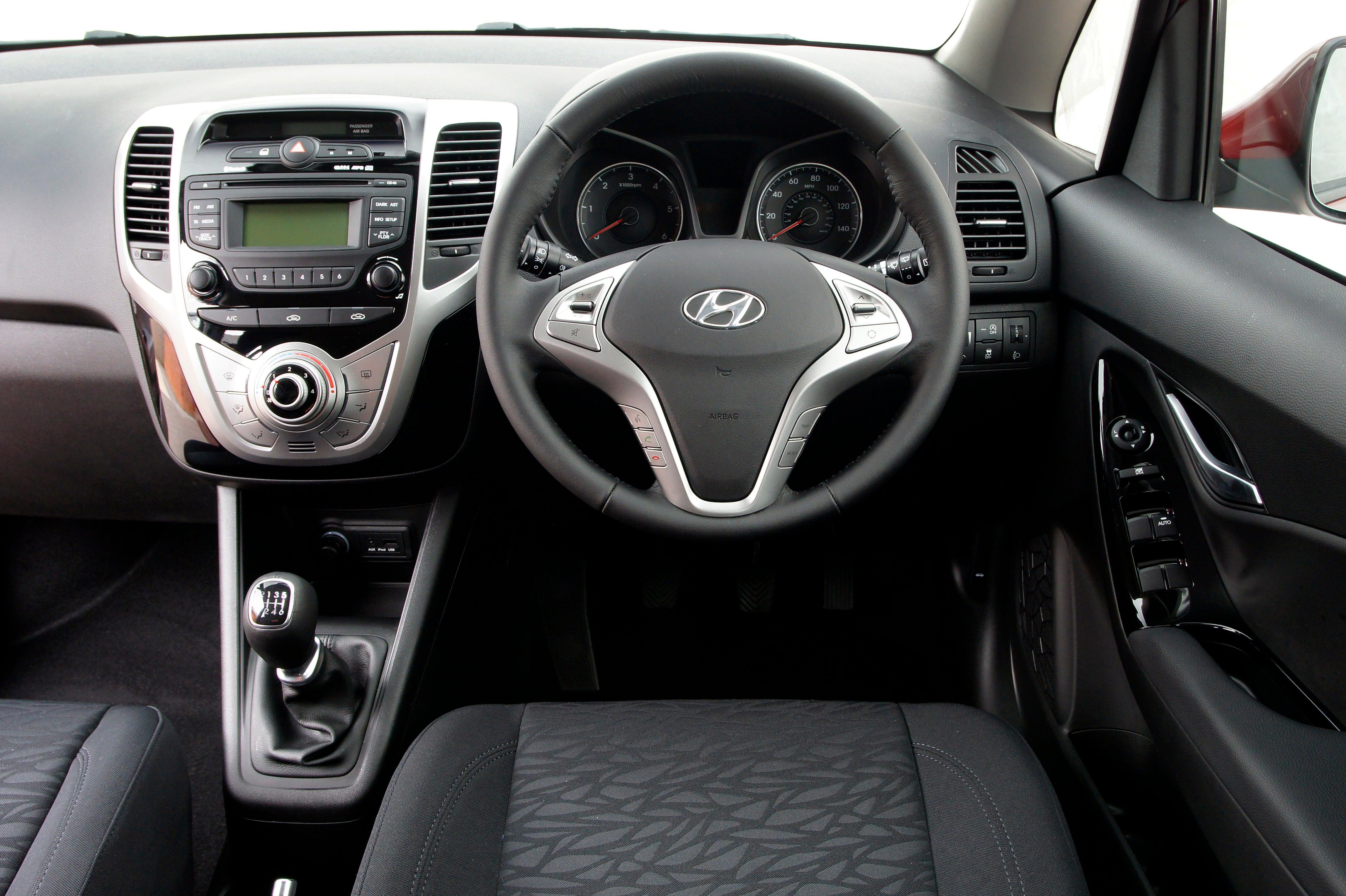 Hyundai ix20 front interior