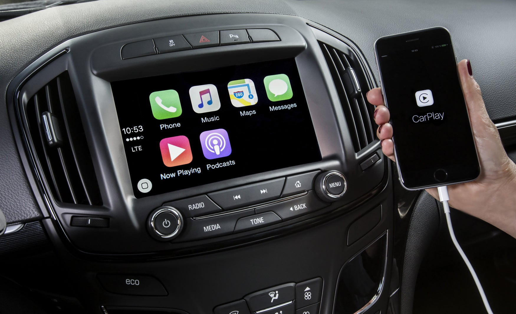 Apple CarPlay and iPhone