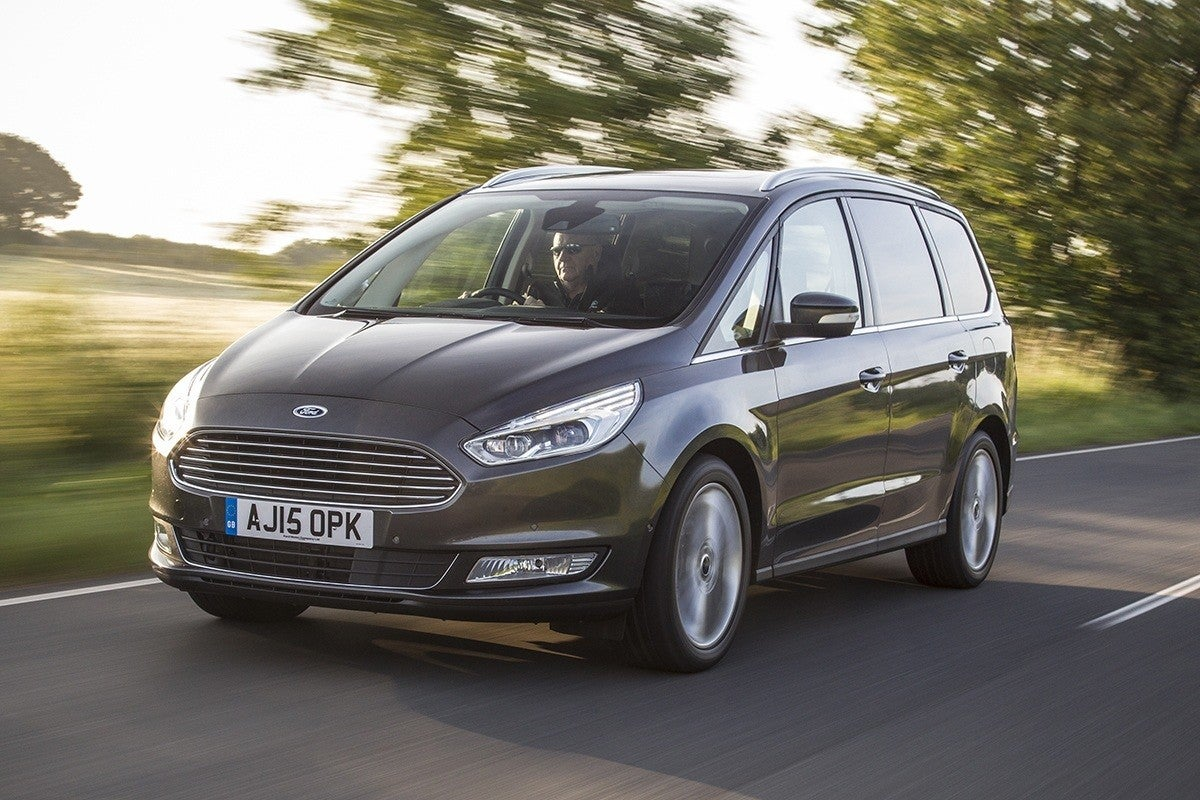 Ford Focus Estate Driving