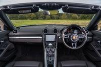 Porsche 718 Boxster Front Interior