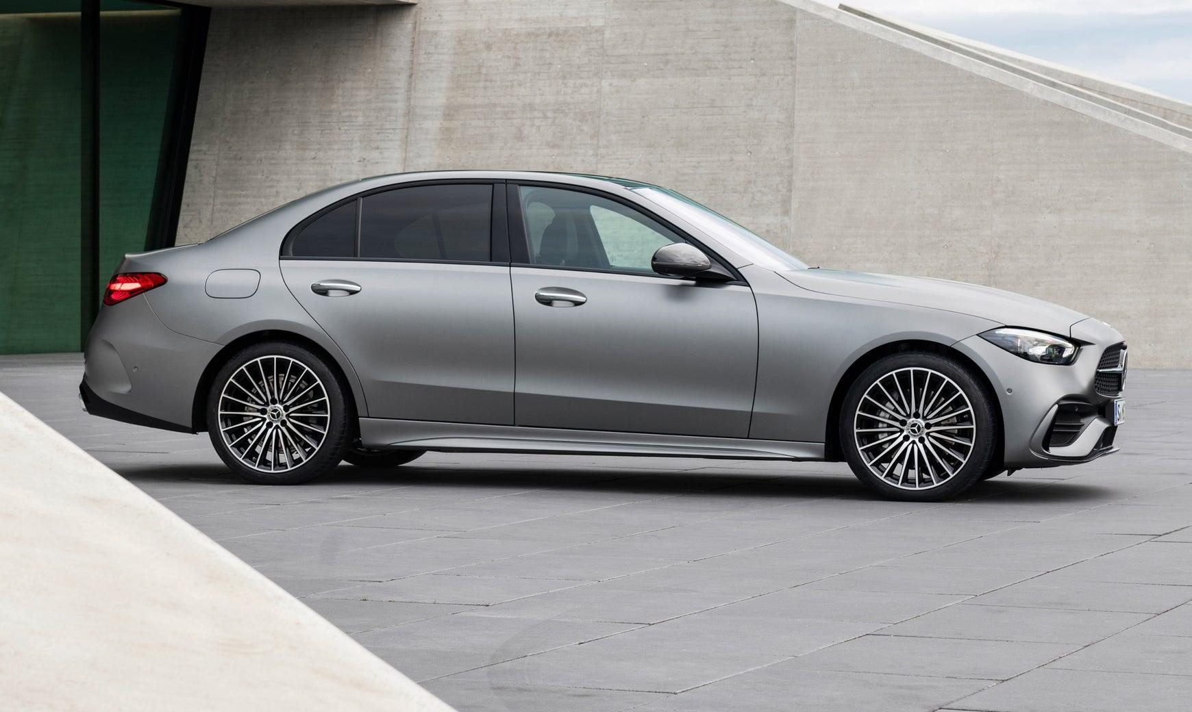 2021 Mercedes C-Class profile