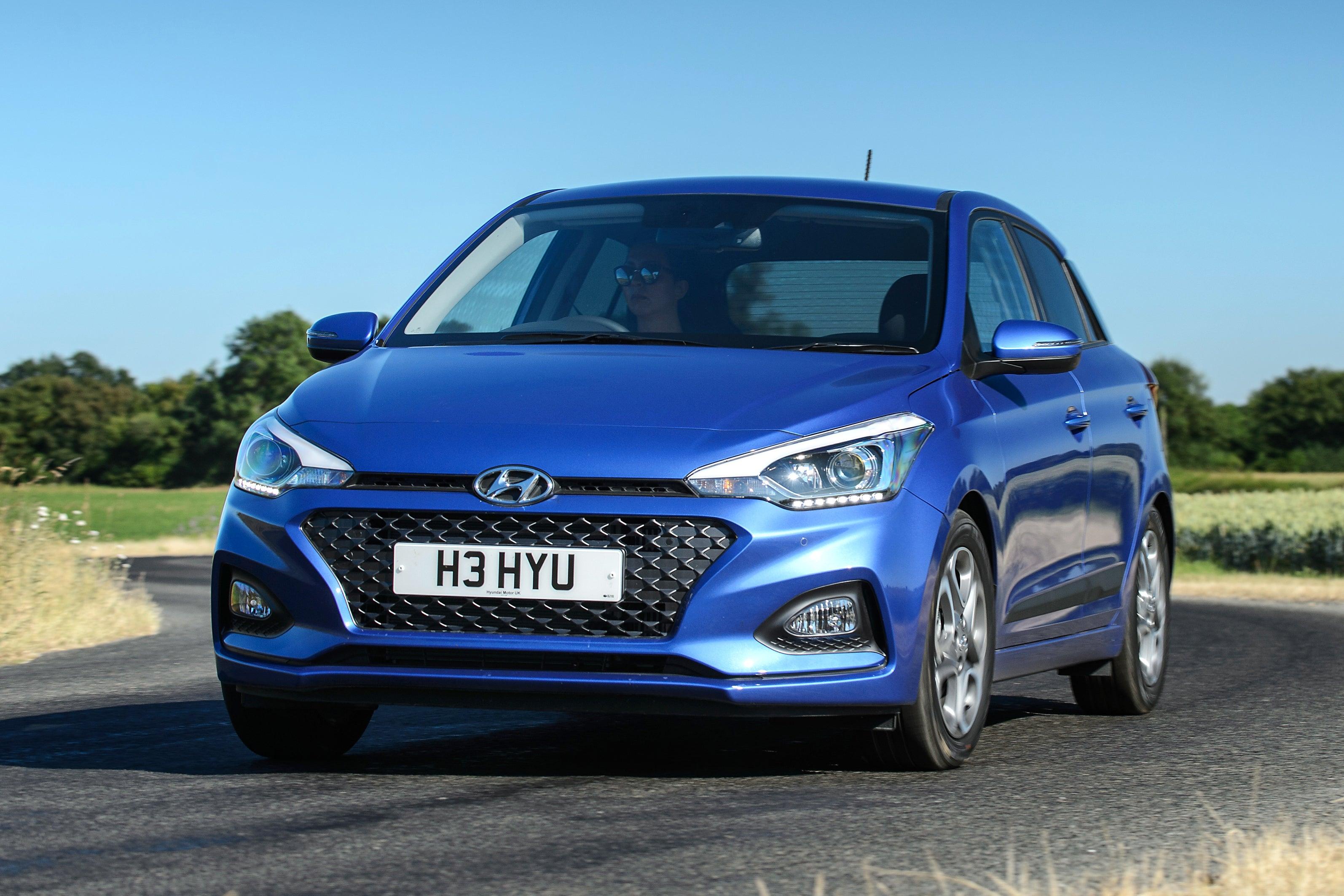 Hyundai i20 2015 frontleft exterior