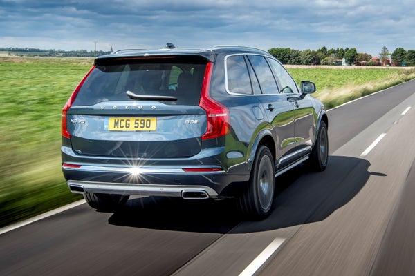 Volvo XC90 Rear View