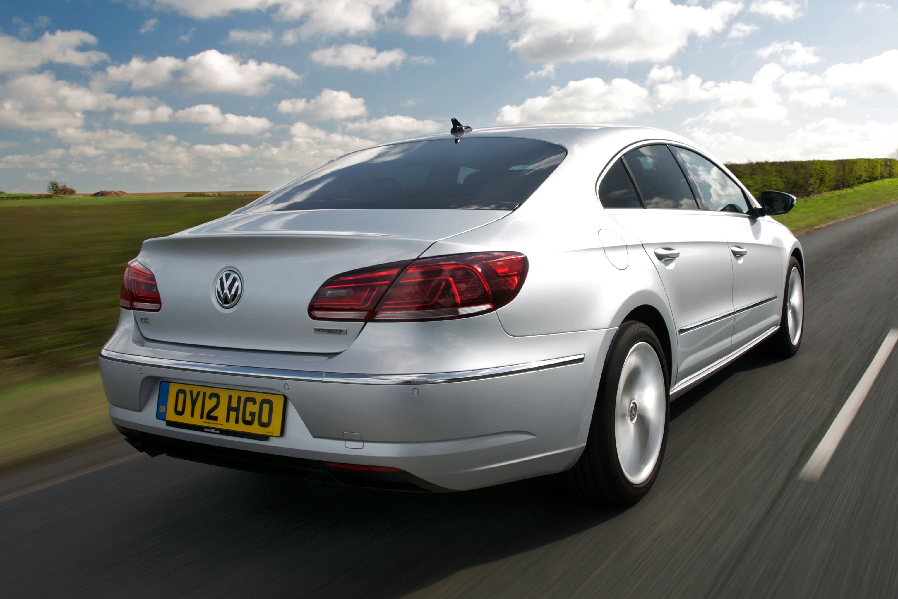 Volkswagen CC Rear Side View
