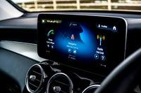 Mercedes GLC central console