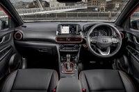 Hyundai Kona front interior
