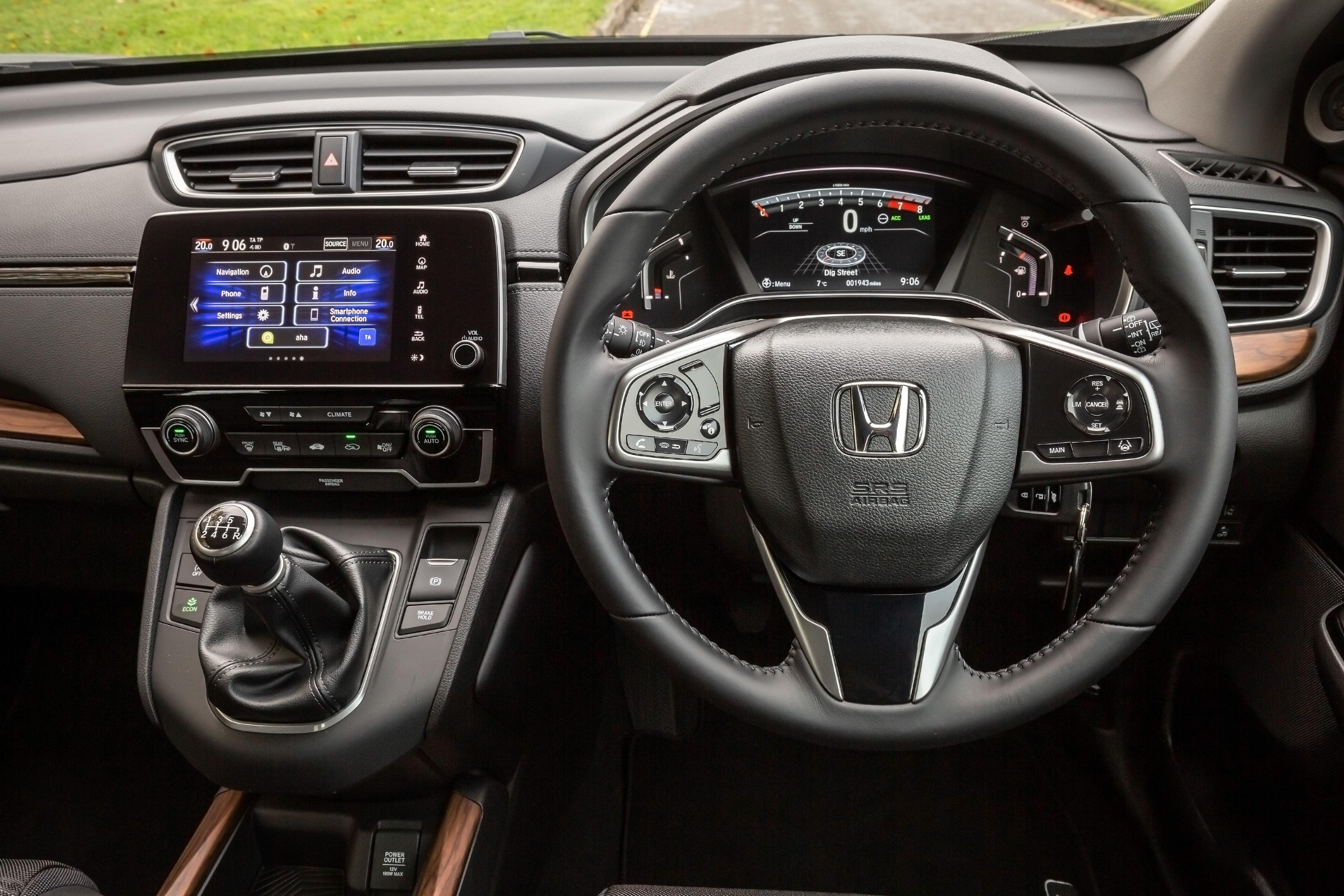 Honda CR-V 2018 front interior
