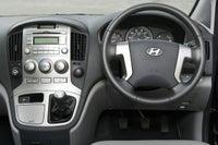 Hyundai i800 front interior