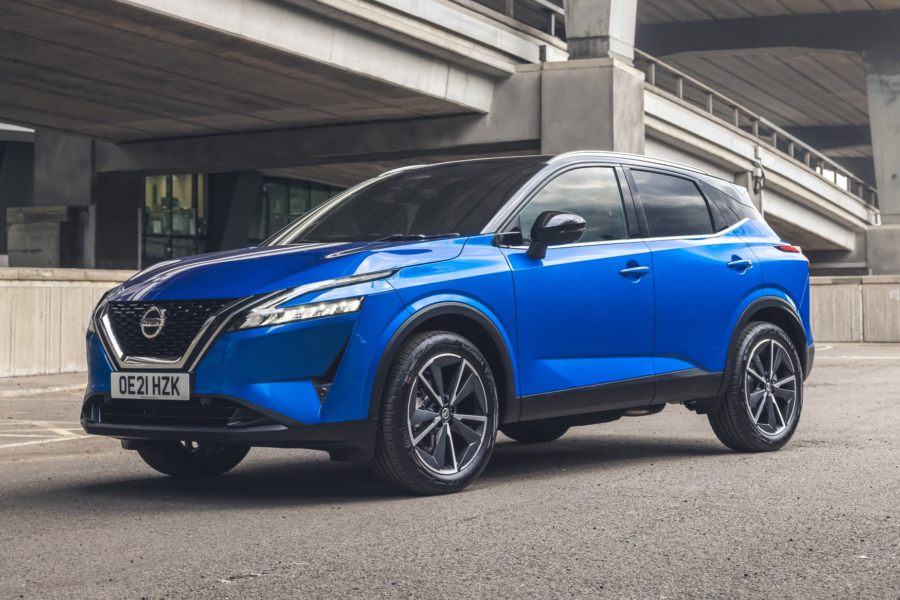 Nissan Qashqai Review 2021: exterior static