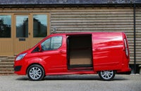 Ford Transit Custom side exterior