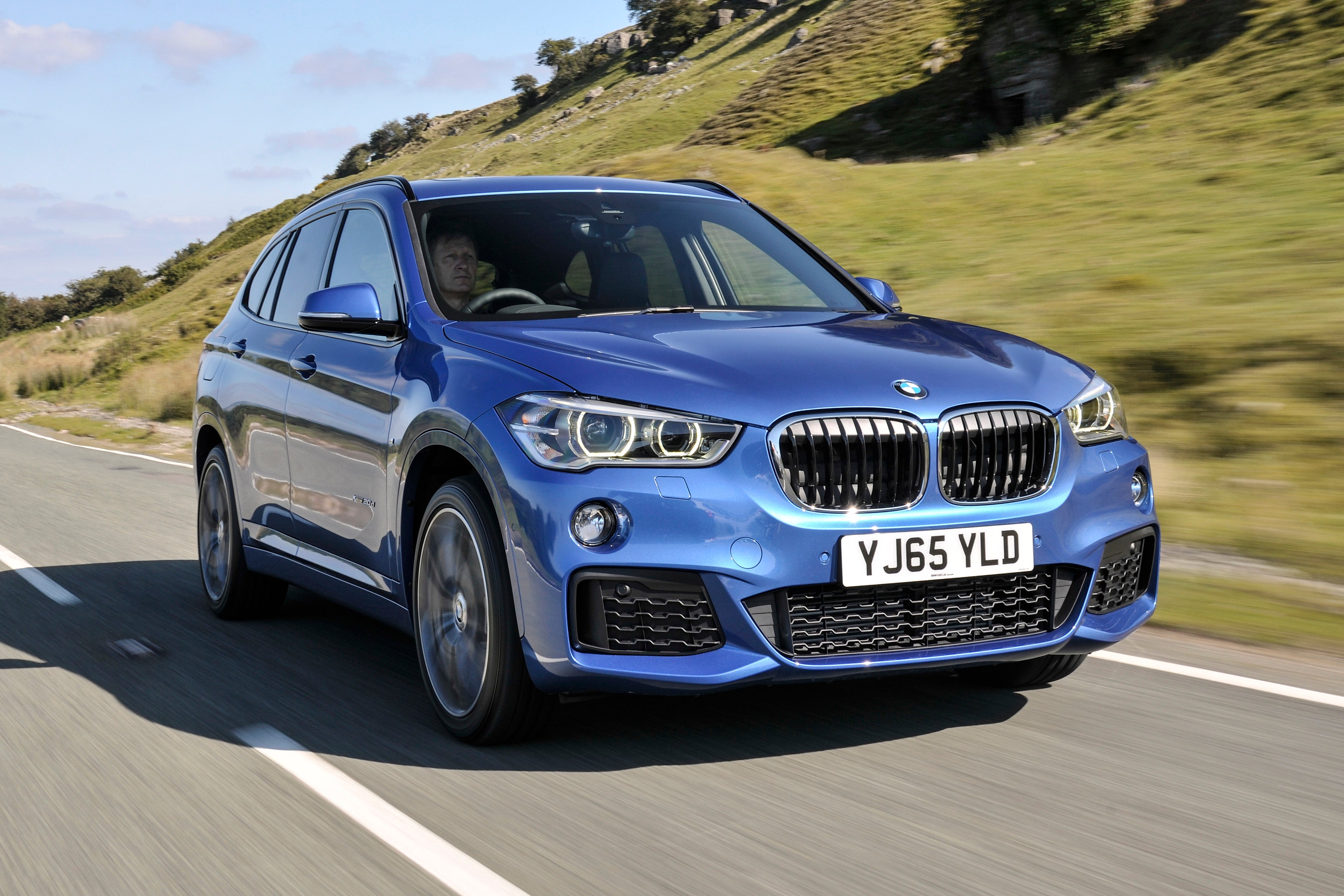 BMW X1 Driving Front