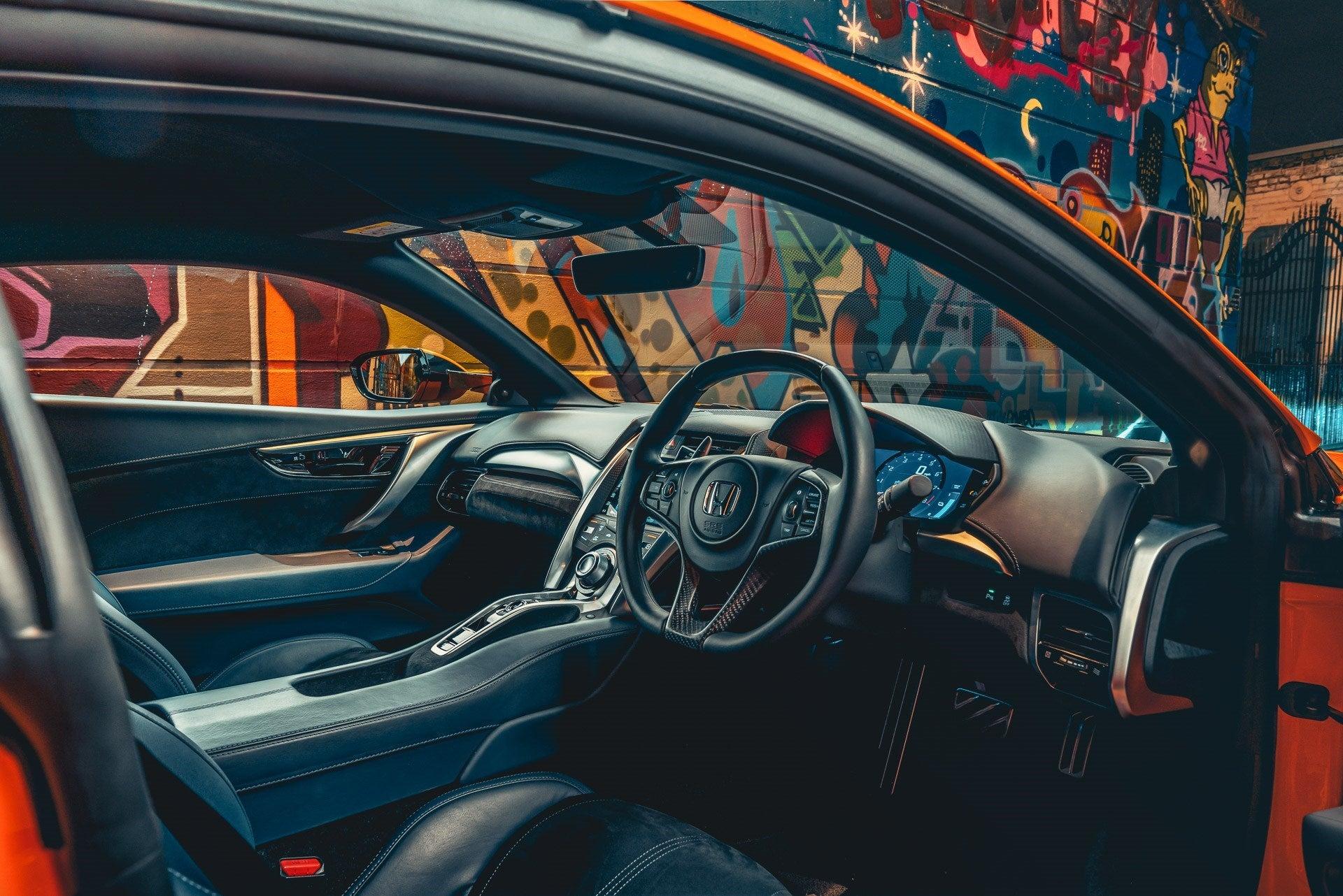 Honda NSX frontright interior